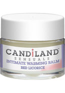 Candiland Sensuals Intimate Warming Balm Red Licorice .25...