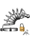 Master Series Asylum 6 Ring Locking Stainless Steel...