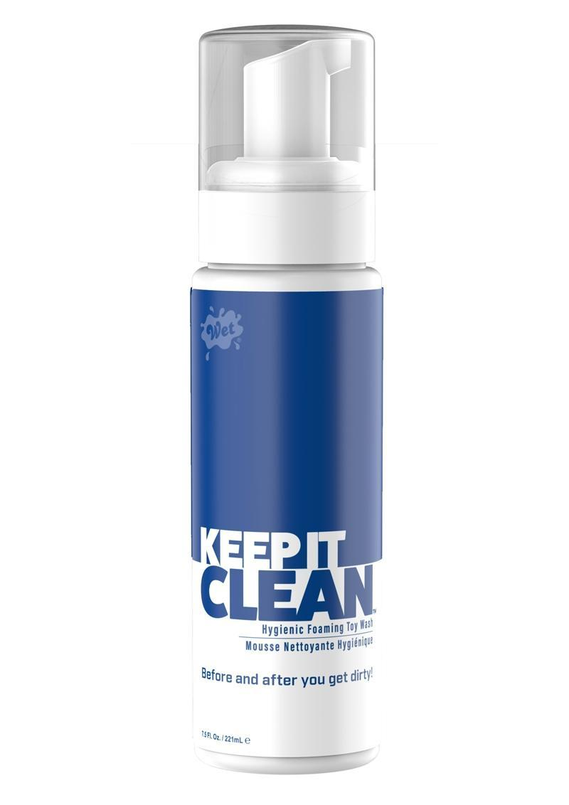 Wet Keep It Clean Hygienic Foaming Toy Wash 7.5 Ounce